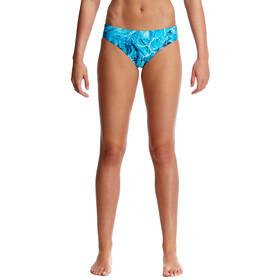 Funkita Sports Brief - Bañadores Mujer - azul/Turquesa